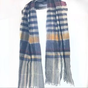 JCREW Plaid Winter Scarf